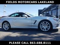 SL 400 trim. CARFAX 1-Owner, ONLY 20,778 Miles! Nav