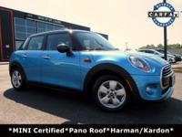 **MINI CERTIFIED** LOW MILES! Only 1 Previous Owner!