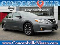 CARFAX One-Owner. Certified. Gun Metallic 2016 Nissan