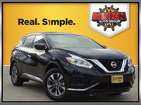 This 2016 Nissan Murano S is beautiful SUV with a