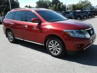 Certified. Cayenne Red Metallic 2016 Nissan Pathfinder
