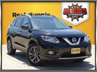 This 2016 Nissan Rogue SL is good looking and it has