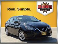 This 2016 Nissan Sentra S is a compact car that has