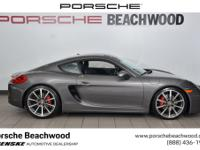 2016 Porsche Cayman SCARFAX One-Owner. Clean CARFAX.