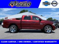 PRICED BELOW NADA RETAIL VALUE OF $31,875. CARFAX ONE