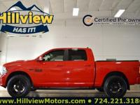 Clean CARFAX. Certified. Torred 2016 Ram 1500 Sport 4WD