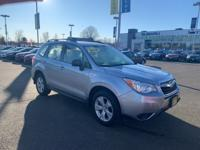 2016 Subaru Forester Ice Silver Metallic 2.5i Rear