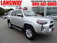 2016 Toyota 4Runner SR5 Odometer is 12434 miles below