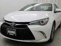 2016 Toyota Camry LE Super White Bluetooth, iPod