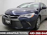 2016 Toyota Camry XLE Parisian Night Pearl Bluetooth,