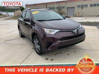 2016 Toyota RAV4 LE !!!!FREE CAR WASHES FOR LIFE!!!!,