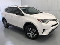 Super White 2016 Toyota RAV4 LE FWD 6-Speed Automatic