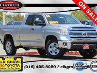Certified. Silver Sky Metallic 2016 4D Double Cab