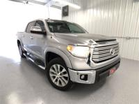 Silver Sky Metallic 2016 Toyota Tundra Limited 4WD
