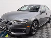 Sharp Monsoon Gray Metallic vehicle with Quattro AWD, a