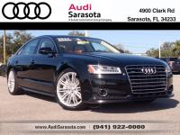 Audi Certified..This Low Mileage, All Wheel Drive A8 L