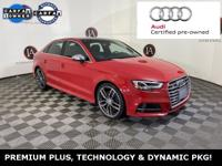 AUDI CERTIFIED - TECHNOLOGY AND DYNAMIC PACKAGE - 1
