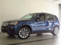 2017 BMW X3 xDRIVE28i! ONE OWNER! NEW TIRES! CERTIFIED!