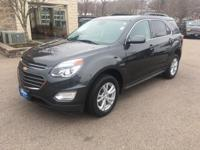 This 2017 Chevrolet Equinox LT is offered to you for