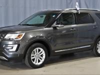 New Price! Certified. Gray 2017 Ford Explorer XLT FWD