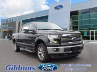 Clean CARFAX. Certified. 2017 Ford F-150 Lariat Well