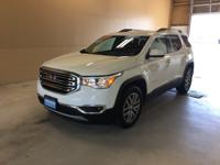 2017 GMC Acadia SLE-2 Summit White GM Certified, AWD,