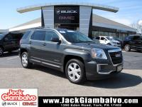 Certified. Graphite Gray Metallic 2017 GMC Terrain