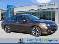 This Gold 2017 Honda Accord Hybrid Hybrid might be just
