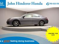 John Hinderer Honda is Thrilled to present a Like New