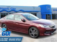 2017 Honda Accord Sport Local Trade, Bluetooth, Rear