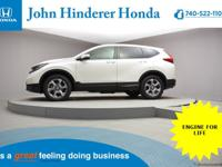 John Hinderer Honda is Pleased to present a 2017 Honda
