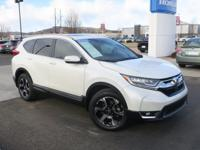 Clean CARFAX. Certified. 2017 Honda CR-V Touring