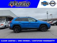 PRICED BELOW NADA RETAIL VALUE OF $19,750. CARFAX ONE