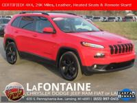 2017 Jeep Cherokee Limited High Altitude Firecracker