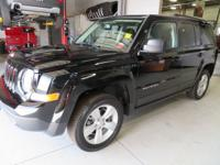 New Price! Certified. Black Clearcoat 2017 Jeep Patriot