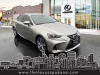 Certified. CARFAX One-Owner. Silver 2017 Lexus IS 300