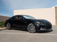 This 2017 Lexus RC F is proudly offered by G1 Lexus of