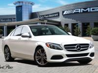 Racy yet refined, this 2017 Mercedes-Benz C-Class turns