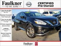 Certified! 13k miles! Loaded SL Murano with Added Tech