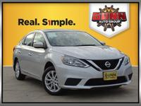 This 2017 Nissan Sentra SV is good looking and it has