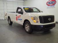 Certified.017 Nissan Titan S RWD 7-Speed Automatic,