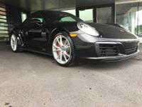 *PORSCHE CERTIFIED*, *BOUGHT HERE NEW*, *RECENT TRADE