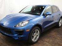 Just Arrived! 2017 Porsche Macan finished in Sapphire