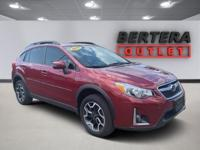 2017 Subaru Crosstrek Venetian Red Pearl 2.0i Limited