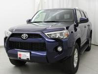 2017 Toyota 4Runner SR5 Nautical Blue Metallic