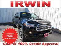 4WD! TOYOTA CERTIFIED! LOW MILES! TRD SPORT PACKAGE!