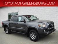 Certified. Magnetic Gray Metallic 2017 Toyota Tacoma