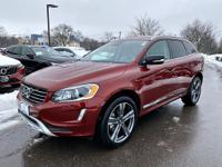 Certified. Flamenco Red Metallic 2017 Volvo XC60 T5
