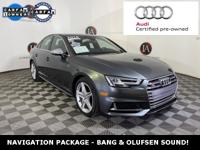 AUDI CERTIFIED - PREMIUM PLUS QUATTRO - NAVIGATION