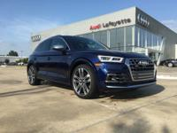 This outstanding example of a 2018 Audi SQ5 Prestige is